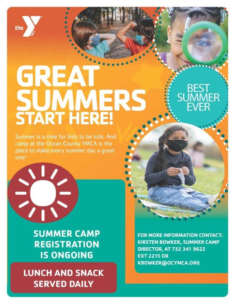 Summer Camp Registration Info