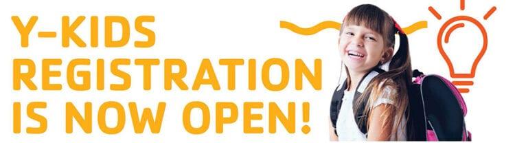 Y-Kids Registration Is Now Open